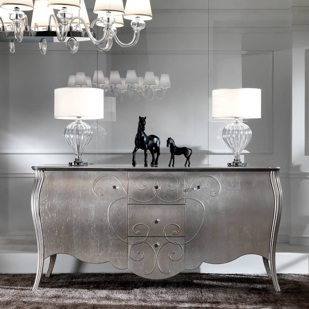 Luxury Buffets & Sideboards – Exclusive High End Designer With Regard To Black And Silver Sideboards (#4 of 15)