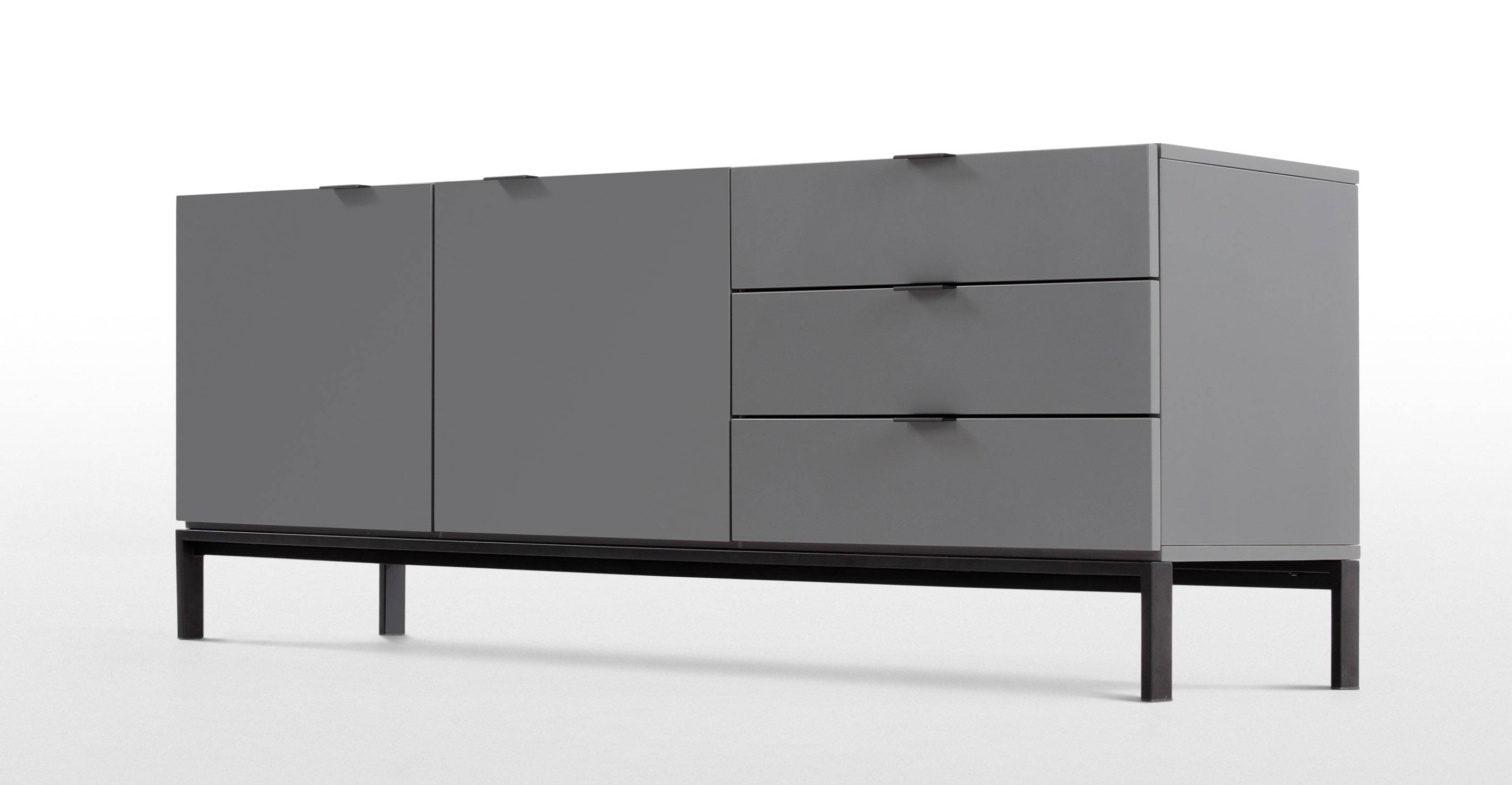 Marcell Sideboard, Grey | Made Pertaining To Grey Sideboards (View 10 of 15)