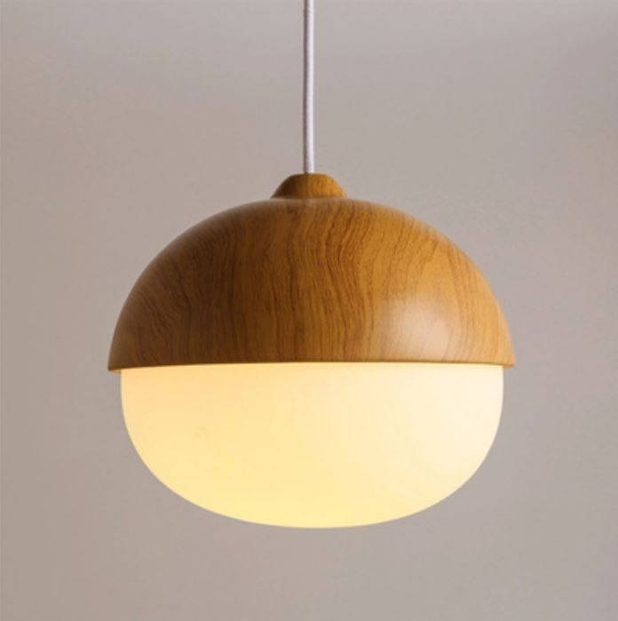 Popular Photo of Acorn Pendant Lights