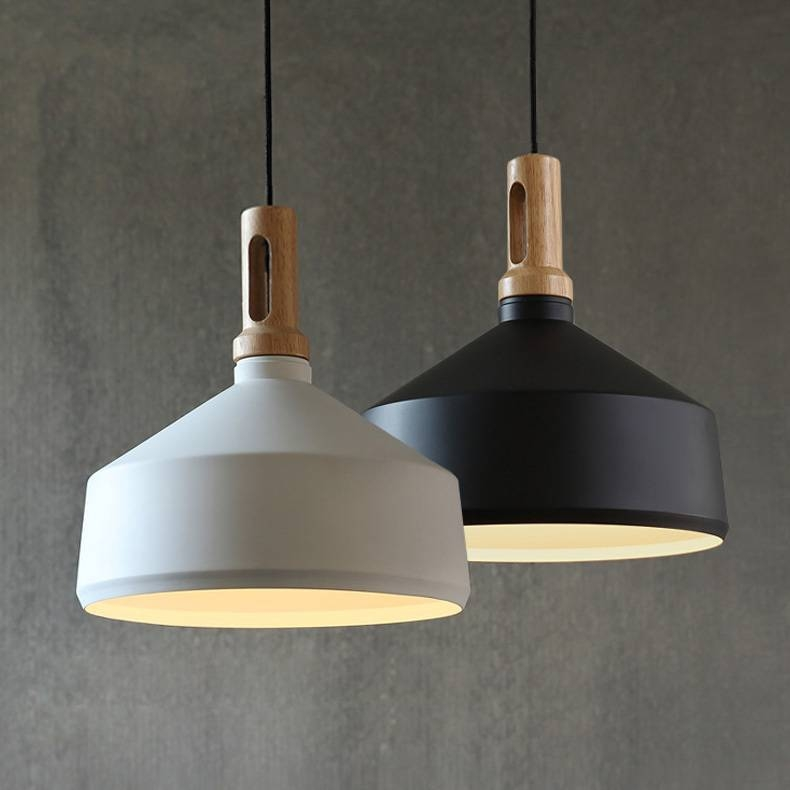 Matt Cone Scandinavian Pendant Light, Design B – Laito | Lighting Within 2017 Scandinavian Pendant Lights (#10 of 15)