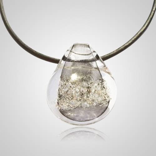 Memory Glass Pendant | Cremation Ashes Molted Into Jewelry In 2018 Memory Glass Pendants (#10 of 15)