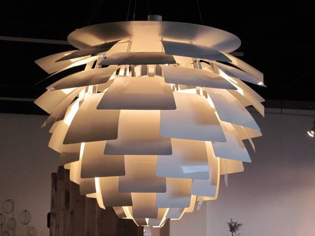 Metro Modern – Poulsen Ph <em>artichoke</em> Pendant Lamp With Regard To 2017 Artichoke Pendant Lights (View 14 of 15)