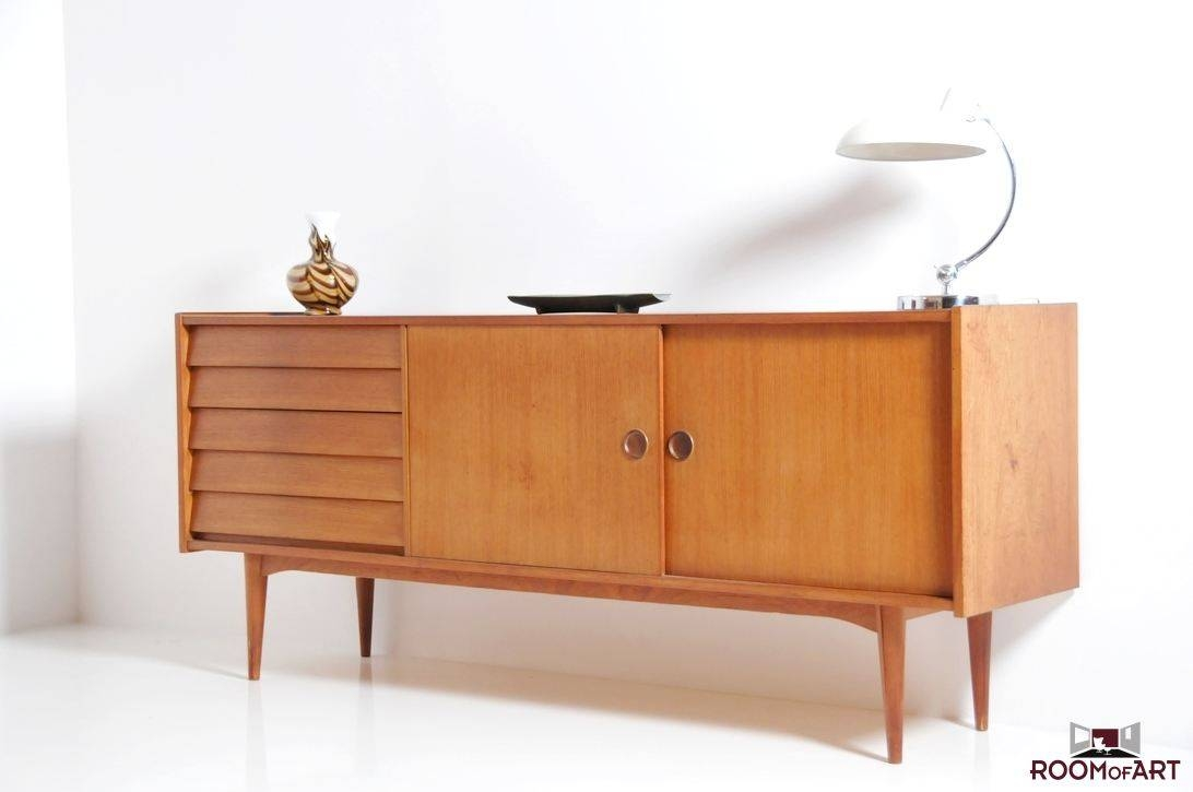 Mid Century Danish Sideboard In Teak: Room Of Art For Mid Century Sideboards (#4 of 15)