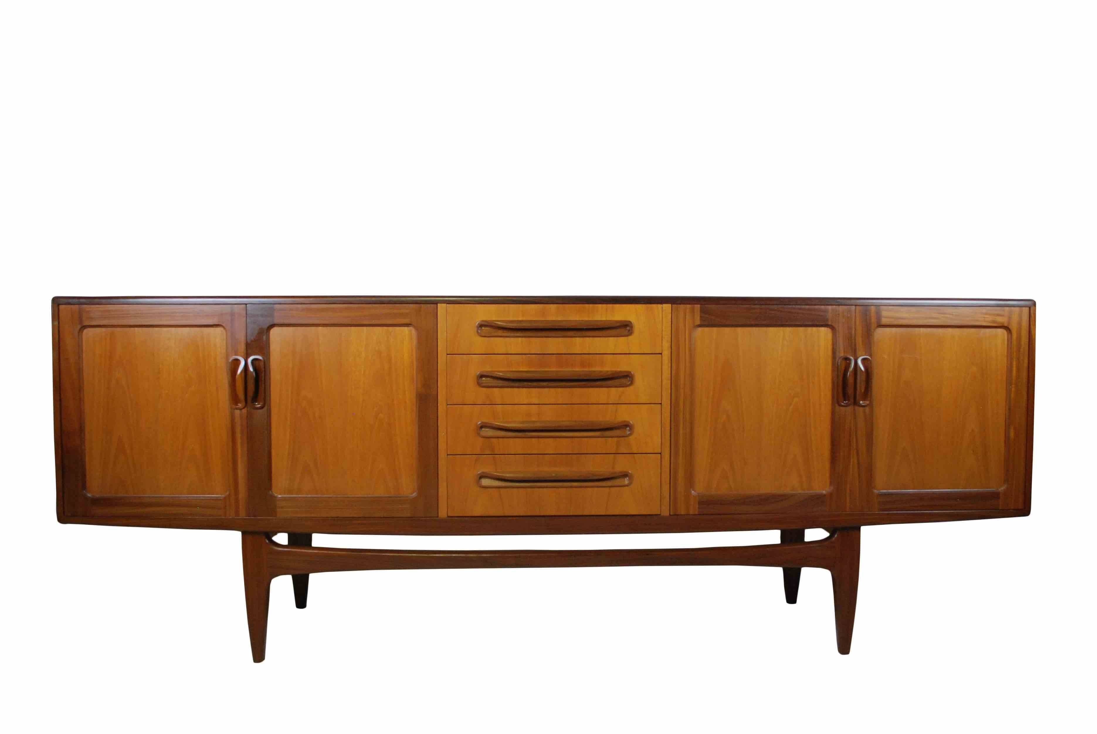 Mid Century Sideboards, Antique Tallboys, Aslett Antiques With Eames Sideboards (#8 of 15)