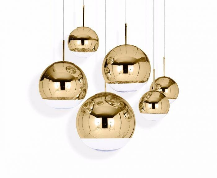 Mirror Ball Gold 40 Pendant | Pendant Lights | Tom Dixon Pertaining To Most Recently Released Mirror Ball Pendant Lights (#8 of 15)