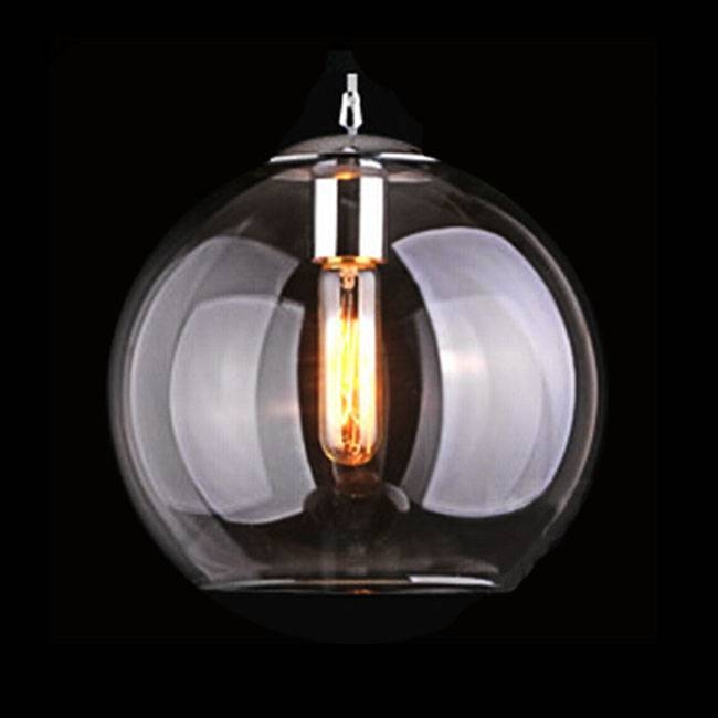 Modern Blown Clear Glass Pendant Lighting 11277 : Browse Project Throughout Most Current Modern Glass Pendant Lighting (View 5 of 15)