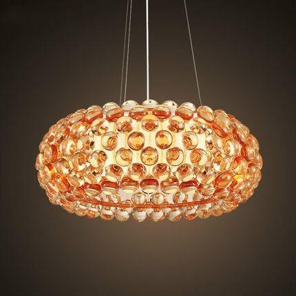 Modern Foscarini Caboche Pendant Lamp Sweat Ion Italian Lighting Intended For Newest Italian Pendant Lighting (#14 of 15)