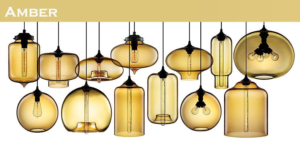 Modern Glass Pendant Lamp – Macer Home Decor With Regard To Most Current Modern Glass Pendant Lights (#10 of 15)