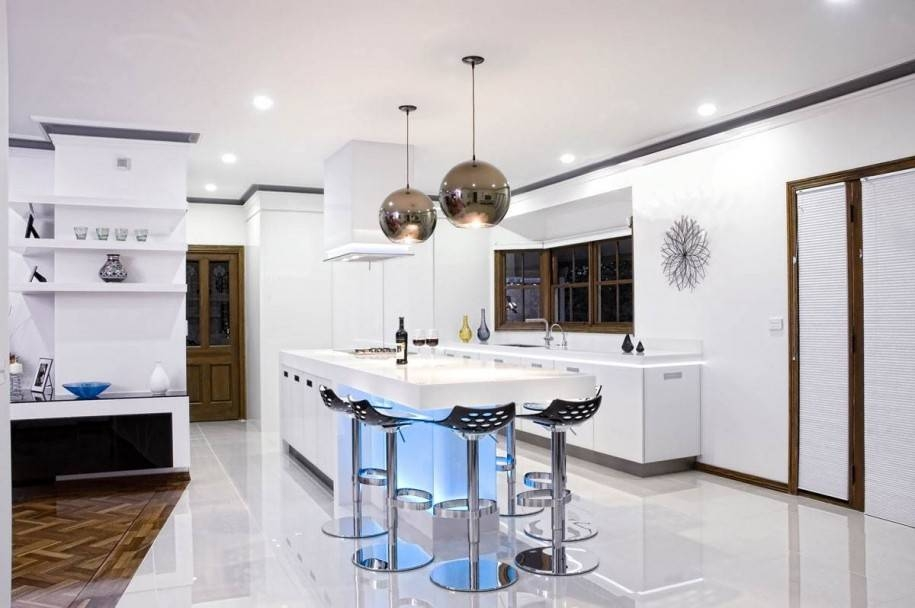 Modern Kitchen Pendant Lighting : Modern Kitchen Lighting For With Regard To Most Recently Released Modern Kitchen Pendant Lighting (#9 of 15)