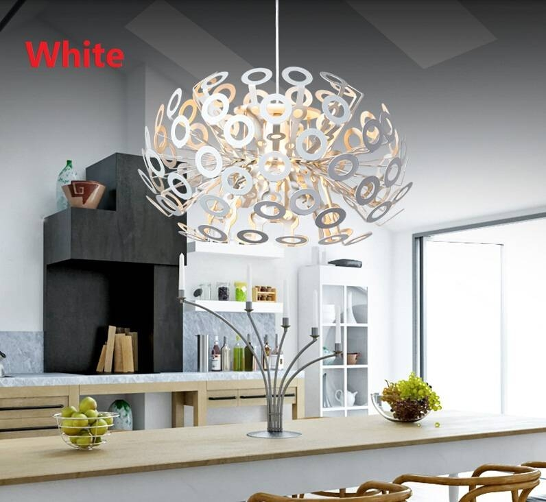 Modern Moooi Dandelion Pendant Lamp Kitchen Industrial Lampadas In Most Up To Date Moooi Dandelion Pendants (#13 of 15)