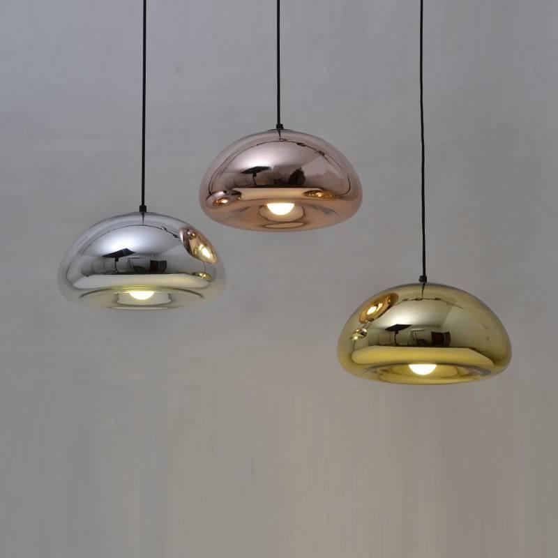 Modern Pendant Lamp Bathroom Mirror Light Silver Glass Mirror With 2017 Modern Pendant Lamp Shades (View 9 of 15)