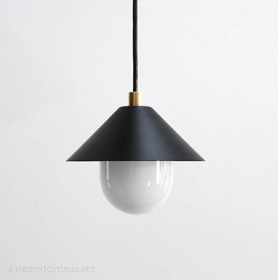 Modern Pendant Light Mid Century Pendant Light Minimal In Recent Mid Century Modern Pendant Lights (#11 of 15)