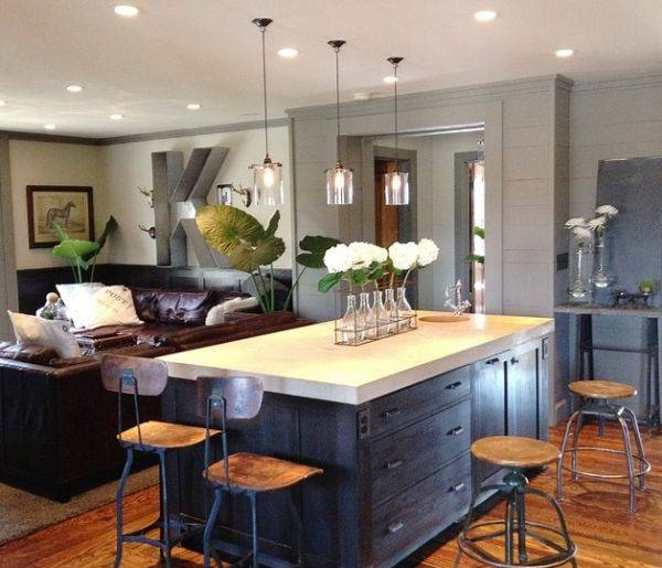Modern Pendant Lighting For Kitchen Island Cute Model Furniture On Throughout Most Popular Modern Pendant Lighting For Kitchen (View 11 of 15)
