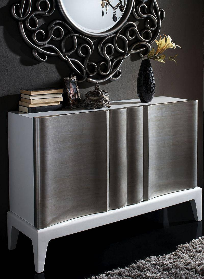 Modern Sideboards | Dining Room Furniture | Contemporary Furniture Pertaining To Black And Silver Sideboards (#6 of 15)