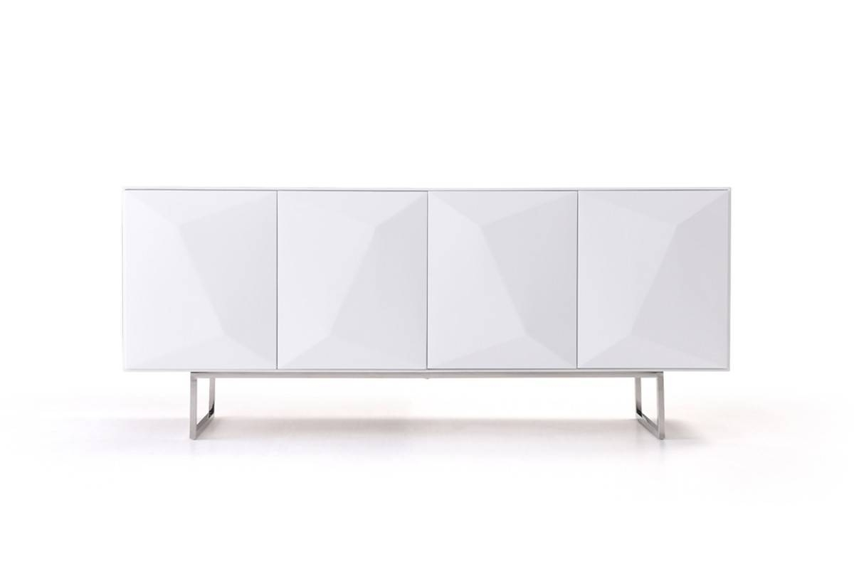 Modern White Buffet Intended For Modern White Sideboards (View 11 of 15)