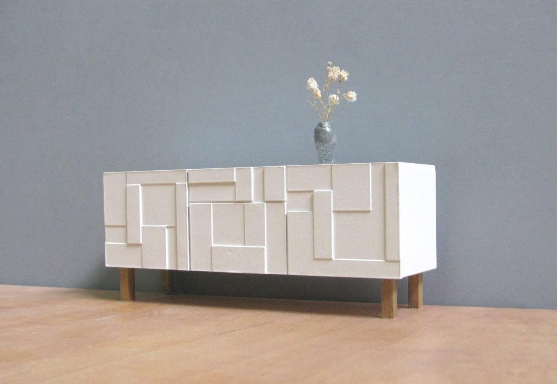 Modern White Credenza White Sideboard Credenza 118112 Scale In Modern White Sideboards (View 12 of 15)