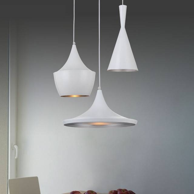 Modern White Pendant Light | Home Design Within Most Recent White Modern Pendant Lights (#10 of 15)