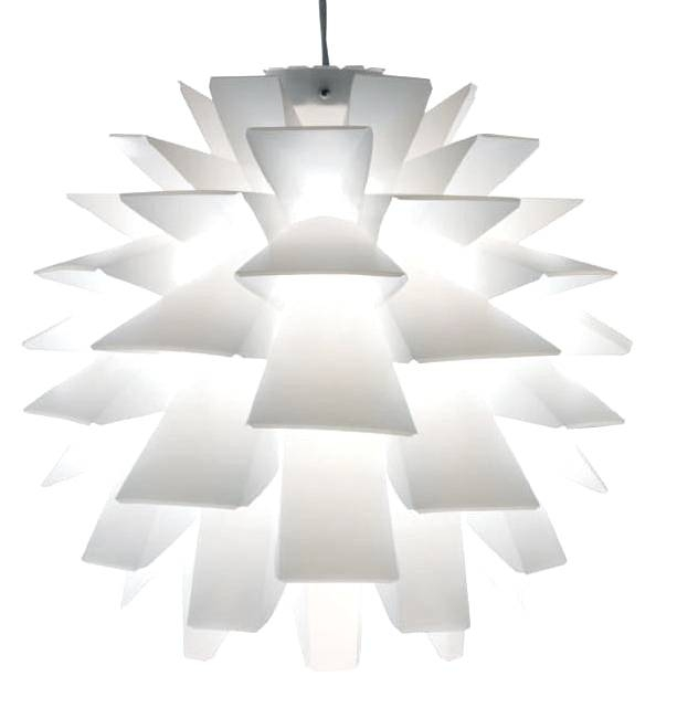 Modern White Pendant Light With Cocoon Contemporary Lighting With Most Recently Released Modern White Pendant Lighting (#11 of 15)