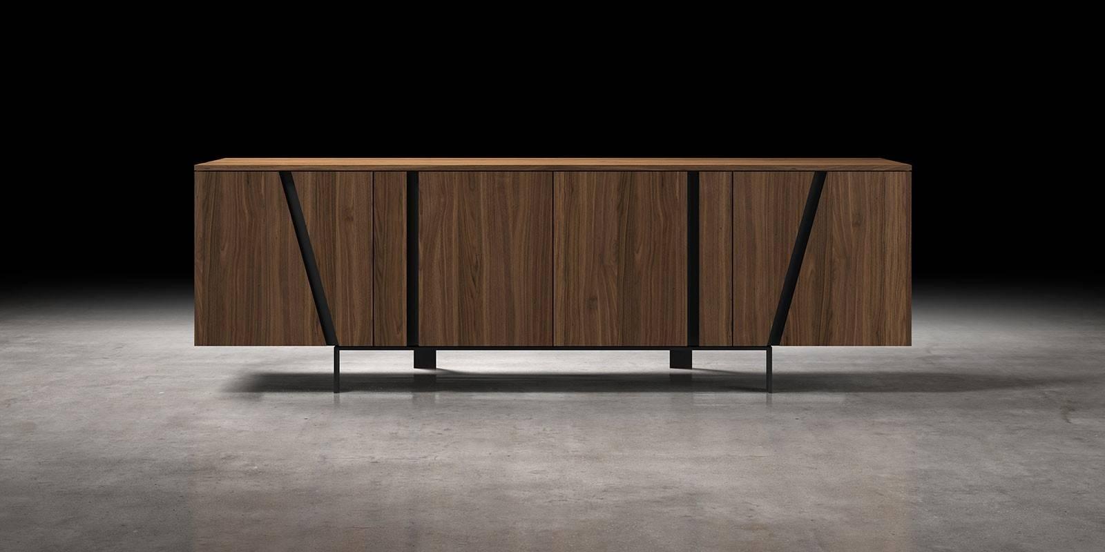 Mott Modern Sideboard | Modloft Within Modern Sideboard Furniture (#11 of 15)