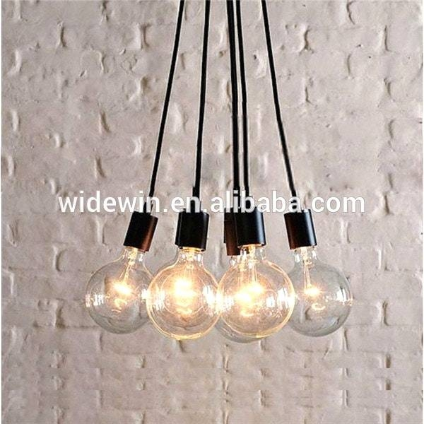 Multi Bulb Pendant Light With Lighting Ideas Cluster Large And 1 Within 2017 Bulb Pendants (#15 of 15)