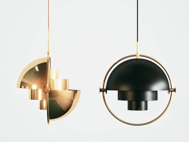 Multi Lite Pendant 3D Model | Gubi Regarding Best And Newest Gubi Pendant Lights (#11 of 15)