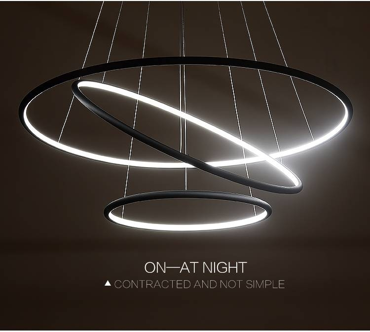Multi Ring Modern Led Pendant Light – Westworld Light Fixture Pertaining To Current Modern Led Pendant Lights (#11 of 15)