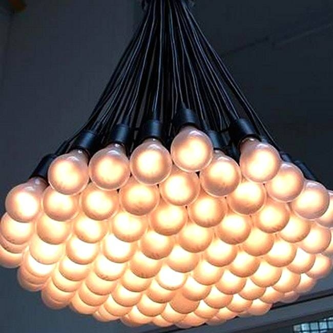 Multiple Bulb Pendant Light And Modern Multi Matte Bulbs Lighting With Most Recently Released Multiple Bulb Pendant Lights (View 2 of 15)