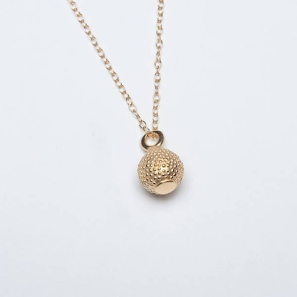 Necklaces Within 2018 Gold Ball Pendants (#9 of 15)