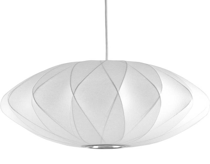 Nelson™ Bubble Lamp Crisscross Saucer – Hivemodern With 2018 Nelson Saucer Pendant Lamps (View 11 of 15)