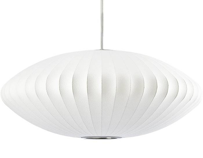 Nelson™ Bubble Lamp Saucer – Hivemodern Pertaining To Most Up To Date Saucer Pendant Lamps (#12 of 15)