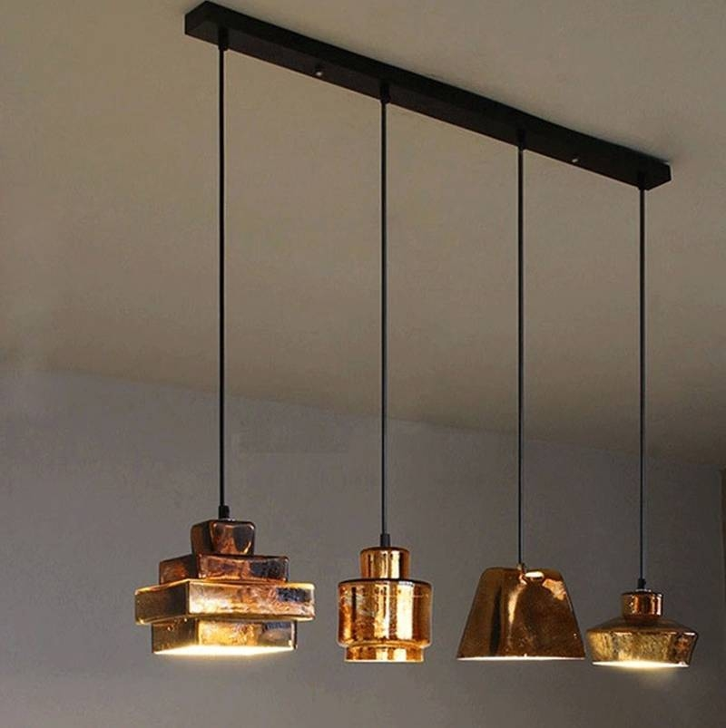 Nice Coloured Glass Pendant Lights Kitchen Retro Classic Pendant Intended For 2017 Classic Pendant Lights (#9 of 15)