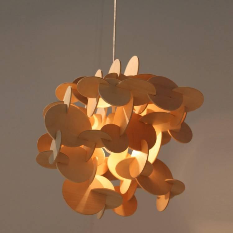 Normann Copenhagen Bau Pendant Nature – Wooden Pendant Chandeliers Within Best And Newest Bau Pendant Lights (#11 of 15)