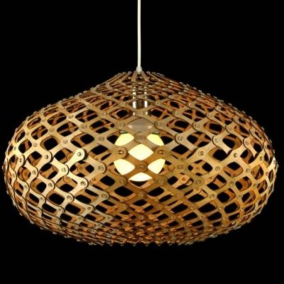 Novelty Oval Brilliant Designer Pendant Light For Dinning Room 20 Pertaining To Most Recently Released Unusual Pendant Lighting (#8 of 15)