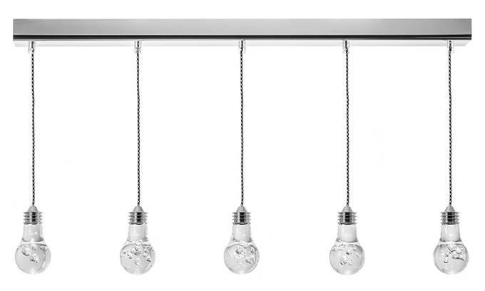 Nuevo Living Florian 5 – Multi Bulb Pendant Lamp At Modernist Lighting With 2017 Multi Bulb Pendant Lights (View 3 of 15)