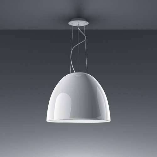 Nur Mini Gloss Suspension Lightartemide | Ylighting Pertaining To Current Artemide Pendant Lights (#14 of 15)