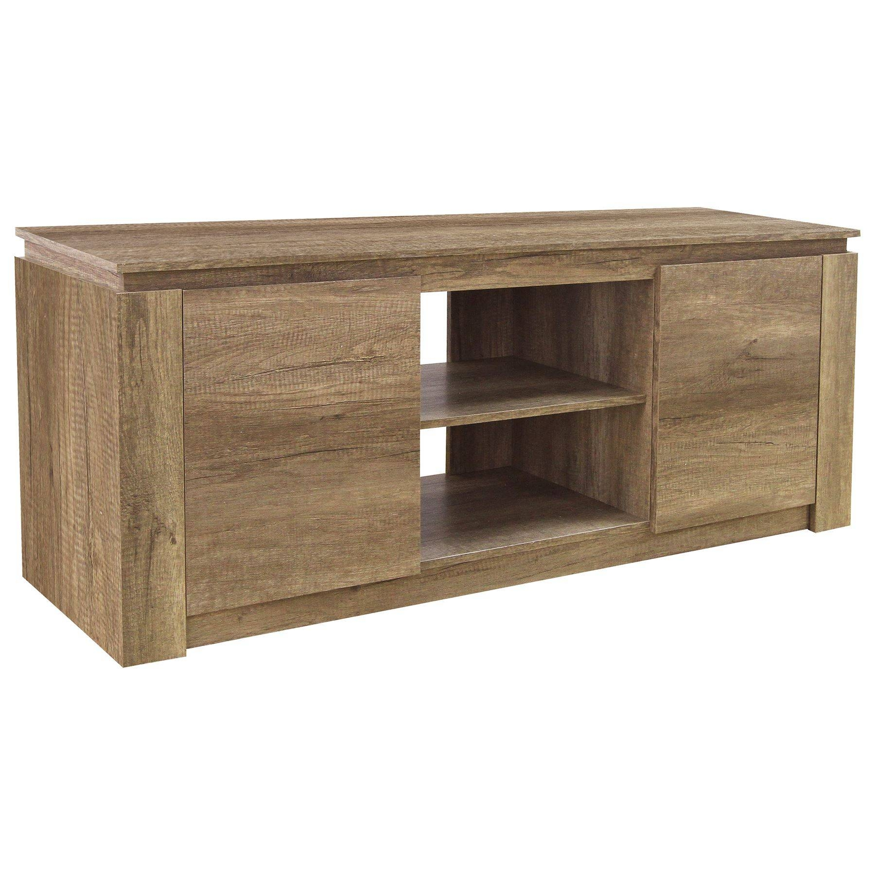 Oak Bookshelf Bookside Tv Unit Stand Coffee Lamp Table Sideboard Regarding Sideboards And Tv Stands (View 15 of 15)