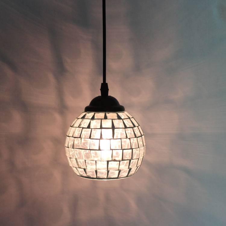 Online Get Cheap Black Mosaic Pendant Lights  Aliexpress Inside Best And Newest Mosaic Pendant Lights (#13 of 15)
