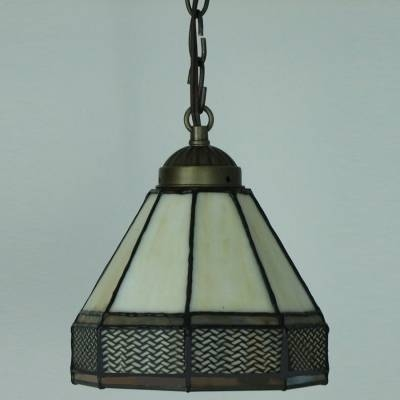 Orange And White Geometric Pattern 5 Inch Mini Hanging Pendant In Current 5 Inch Pendant Lights (View 14 of 15)