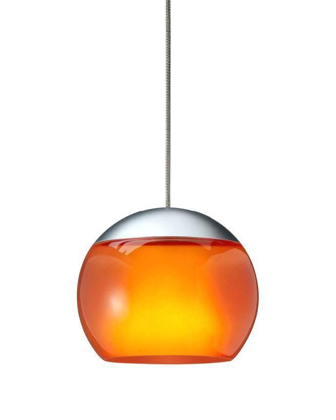 Orange Glass Pendant Lamp Shade Mini Lights – Runsafe In 2018 Orange Pendant Lights (#9 of 15)