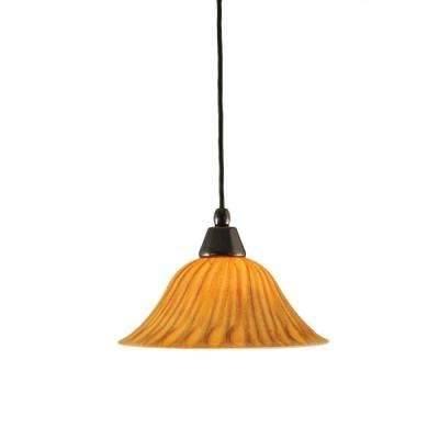 Orange – Pendant Lights – Hanging Lights – The Home Depot Intended For Best And Newest Orange Pendant Lights (#4 of 15)