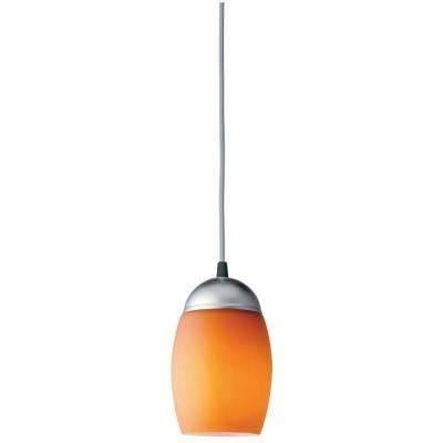 Orange – Pendant Lights – Hanging Lights – The Home Depot Throughout Most Current Orange Pendant Lights (#7 of 15)