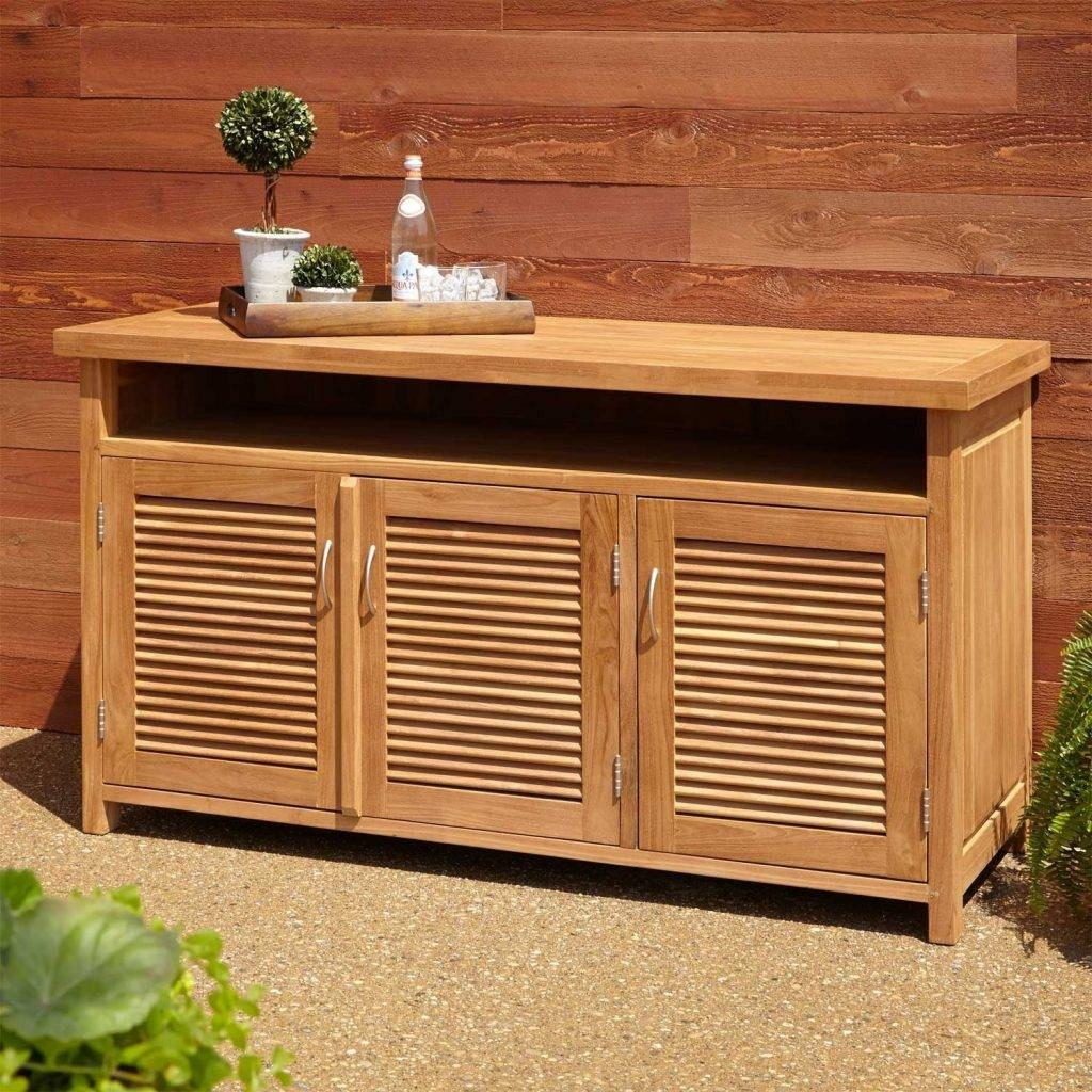 Outdoor Buffet Table – Homaeni In Outdoor Sideboards And Buffets (View 9 of 15)