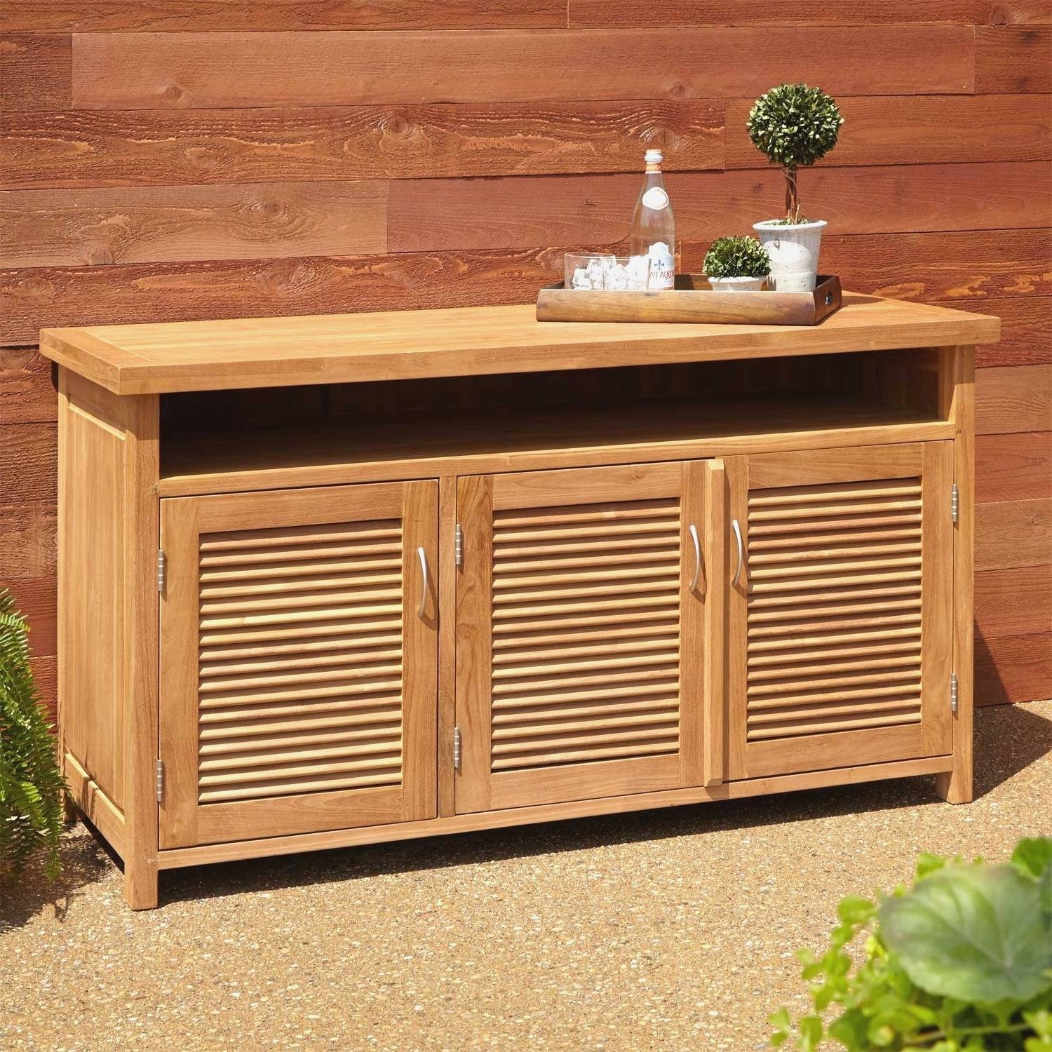 Outdoor Sideboards And Buffets: Outdoor Sideboards And Buffets New Inside Outdoor Sideboards And Buffets (View 11 of 15)