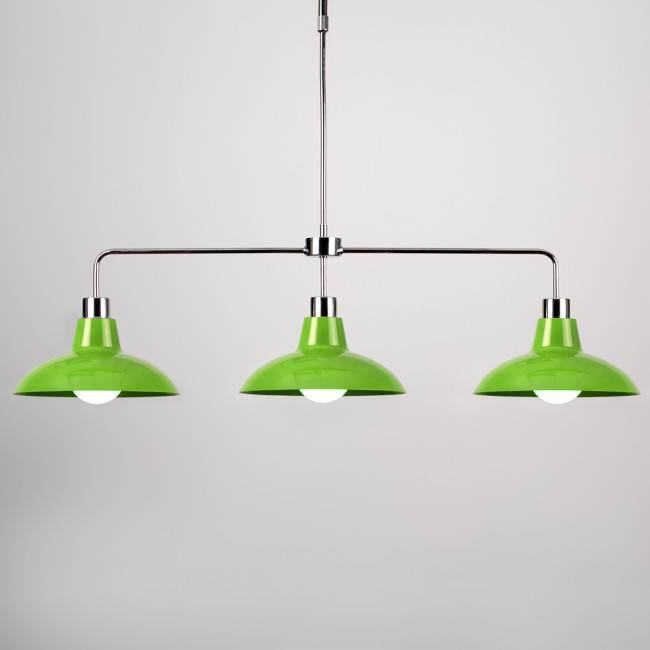 Over Table Rise And Fall Pendant Light | Iconic Lights For Most Popular Coloured Pendant Lights (View 14 of 15)