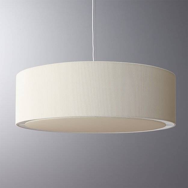 Oversized Equator Pendant Light | Cb2 For Most Current Pendant Wall Lights (#7 of 15)