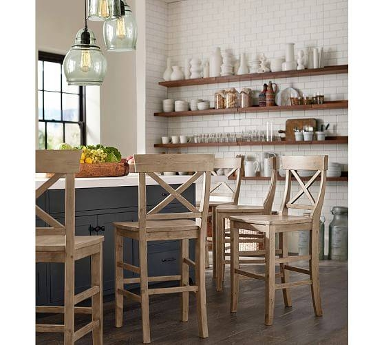 Paxton Glass 3 Light Pendant | Pottery Barn With Regard To Paxton Glass 3 Pendant Lights (#8 of 15)