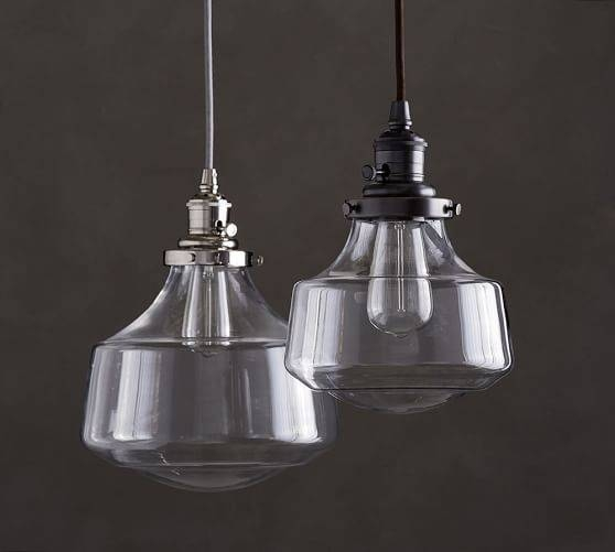 Pb Classic Schoolhouse Glass Pendant | Pottery Barn Within Most Popular Classic Pendant Lighting (#9 of 15)