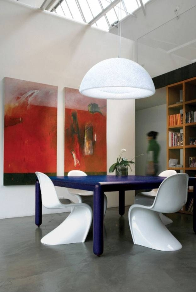 Pendant Lamp / Contemporary / Polycarbonate / Halogen – Iceglobe For Most Current Giant Pendant Lights (#15 of 15)