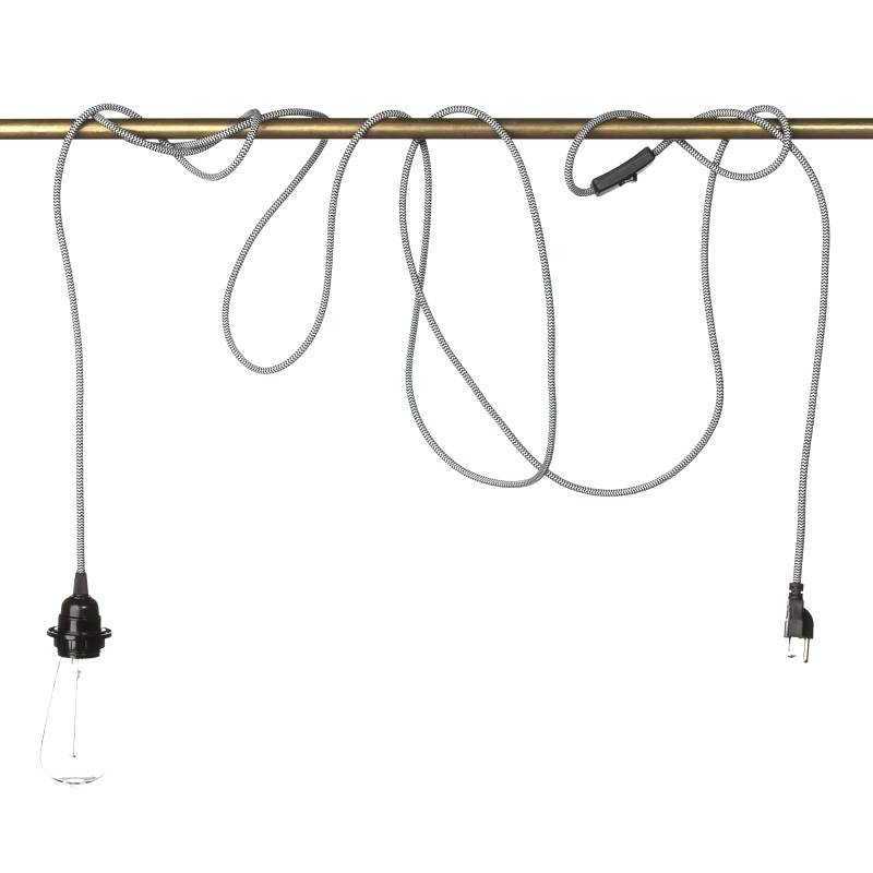 Pendant Light With Cord Buy Cords On Sale Now Com Add And 4 Lamp Within Plug In Pendant Light Kits (#10 of 15)