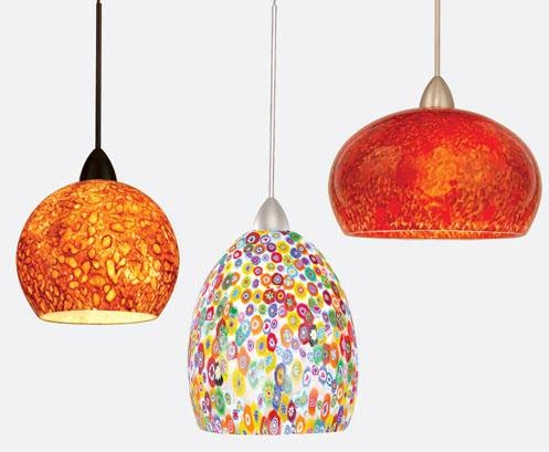 Pendant Lighting For Dining Room With Fun Colors 3 At In Seven Within Most Up To Date Fun Pendant Lights (#12 of 15)